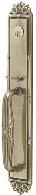 Emtek  4911  Imperial Tubular Dummy Set with Windsor Crystal Knob Tubular Entrance Handlesets