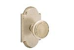 Emtek  C7108-BU  Butte Knob with No. 1 Rosette Supplied with a 28 Degree Rotation Latch