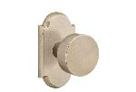Emtek  C7108-BZRN  Round Knob with No. 1 Rosette Supplied with a 28 Degree Rotation Latch