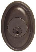 Emtek  8473  No. 14 Tuscany Bronze Single Cylinder Deadbolt