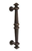 Emtek  86168-BTB  8 In. Recoleta Tuscany Bronze Back to Back Door Pull
