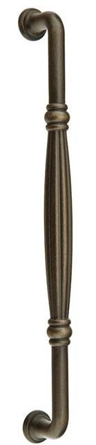 Emtek 86347 12 In. Tuscany Bronze Fluted Appliance Pull